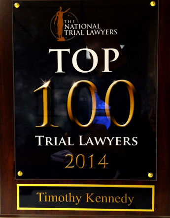 National Trial Lawyers - Top 100 Trial Lawyers 2014